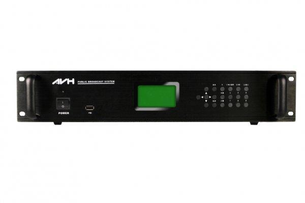 IP网络广播终端AVH机架式DB-212