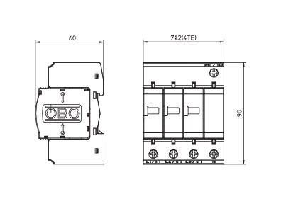 德国OBO电源防雷器V20-C/3+NPE