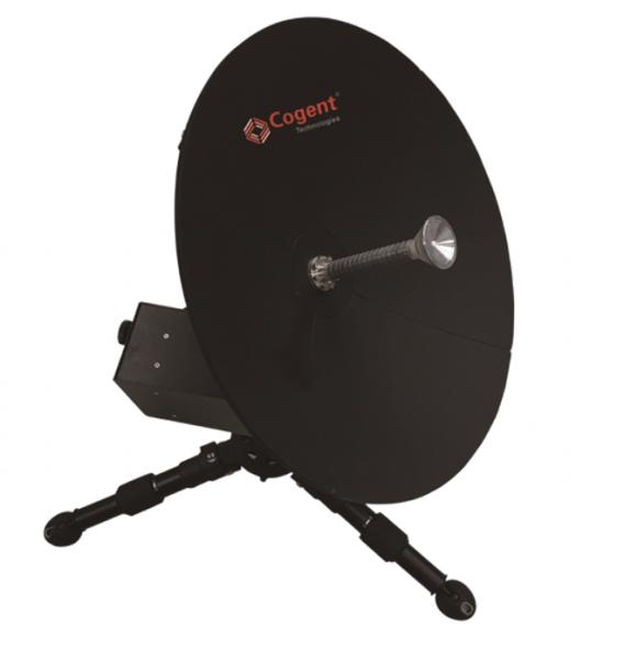 Cogent Ka卫星便携站,0.5米口径,一键自动寻星,上