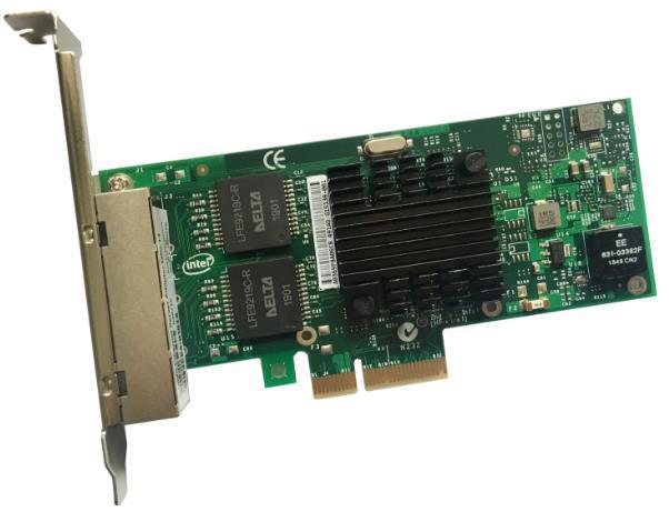 千兆双电口网卡I350T2/因特尔千兆四电口网卡/I350芯