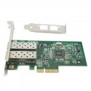 千兆双光口网卡/千兆光纤网卡I350F2