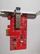 光纤网卡/台式机光网卡/千兆光纤网卡/LC多模网卡/桌面端光
