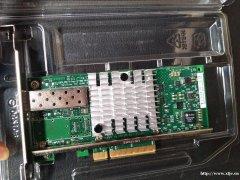 万兆单光口网卡X520-DA1 万兆光纤网卡 10G服务器网